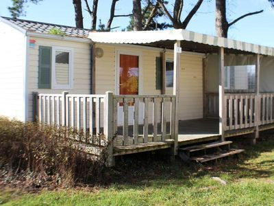 Photo for Camping Kerlaz *** - Mobile Home NIRVANA 4 Rooms 6 People