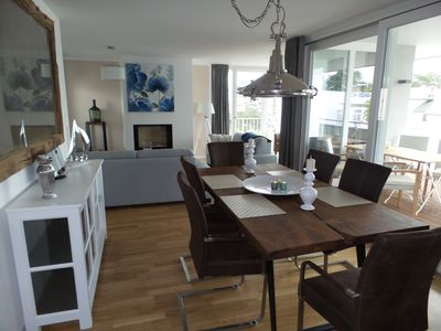 Photo for 3-room apartment - lake view 18, penthouse 4-6 p., Sea view, sauna, fireplace, wifi