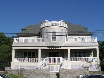 Photo for Large Beach House. Sleeps 16. 7 night rental required in June,July,August.