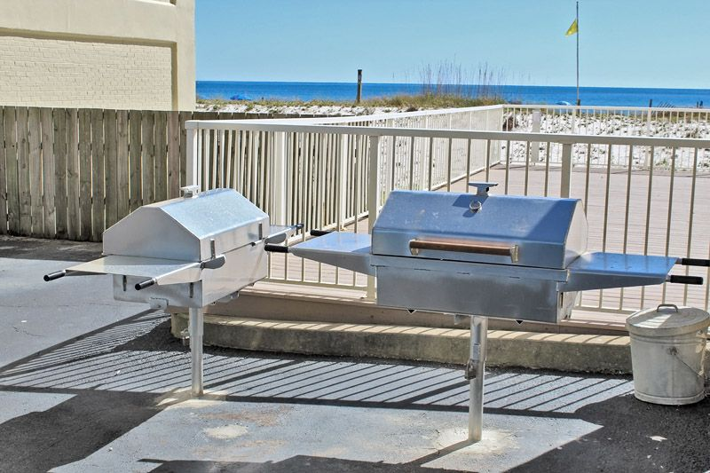 Boardwalk 583 - Free Wi-Fi to use on your Beach Escape!  Located in the Heart of Gulf Shores. Gulf Front w/Outdoor Pool, grills, and Huge Pool Deck.