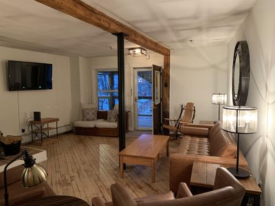 Photo for Updated 2-bedroom condo in the heart of Ludlow - on Okemo shuttle route