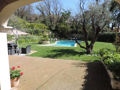 Photo for Beautiful provencal villa with pool, near Valbonne also for long term rental