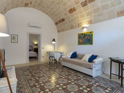 Photo for Charming Historic Apartment in Puglia near the Sea