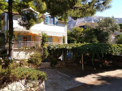 Photo for Two bedroom apartment with terrace Ivan Dolac, Hvar (A-8711-a)