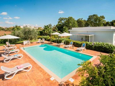 Photo for Modern Apartment with Pool, Garden, Wi-Fi, Terrace, Barbecue, Air Conditioning