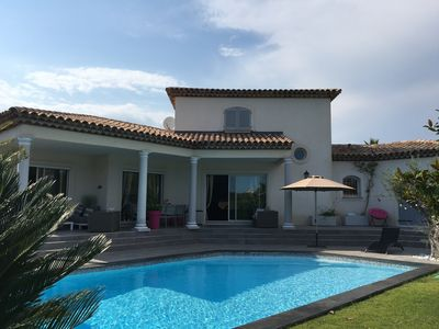 Photo for Spacious villa 220 m2 all comfort 4 bedrooms with swimming pool