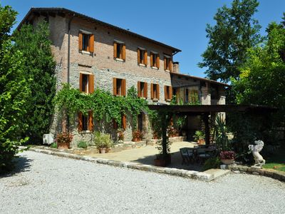 Photo for In a Nineteenth- century house original stone apartments B&B in the Euganean Hil
