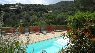 Photo for Villa Faounzina n ° 3 for 4 people, barbecue terrace and communal swimming pool