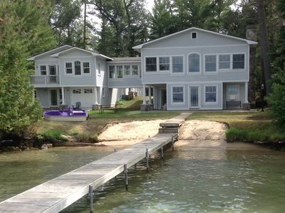 Photo for Quality Executive Cottage With Pure Sand Frontage On Torch Lake