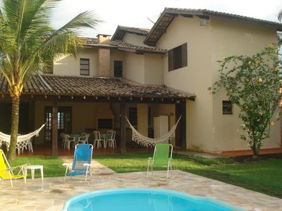 Photo for Delicious house very comfortable, facing the sea, walking in the sand with pool