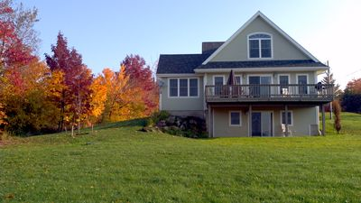 Beautifully situated vacation rental with great view of Willoughby!
