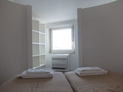 Second bedroom. The single beds can be transformed to a double bed.