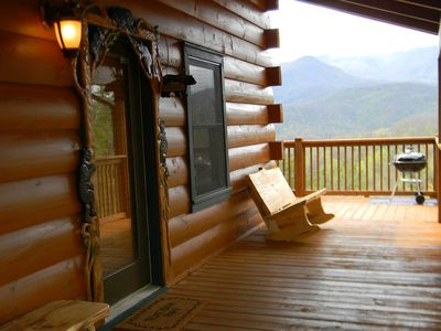Photo for Luxury Dream Cabin!Breathtaking views*Perfect Location 5-10 min from everything!