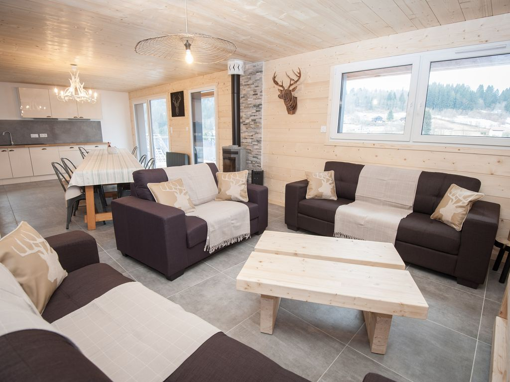 chalet gerardmer lucy 14 pers swimming pool jacuzzi sauna. Black Bedroom Furniture Sets. Home Design Ideas