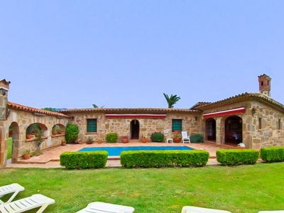 Photo for Club Villamar - A homely Spanish family villa with large and kid friendly garden, near the beach,...