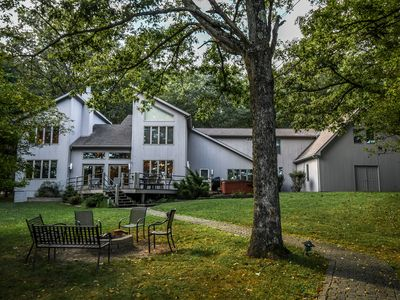 Photo for Marvelous 5 Bedroom Lakefront Home w/ Private Dock in upscale community!
