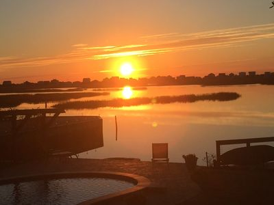 Photo for New! Waterfront Bed and Breakfast - walk to Murrells Inlet Restaurants!