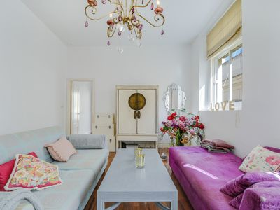 Photo for Modern Apartment Flowers Home 2 with Sea View, Wi-Fi, Balcony & Rooftop Terrace