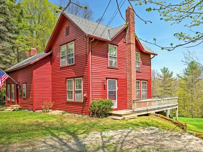 Photo for Tranquil 3BR Stockbridge House w/Private Deck