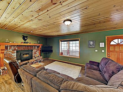 Living Room - Welcome to Big Bear Lake! This home is professionally managed by TurnKey Vacation Rentals.