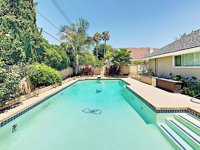 Photo for New Listing! Enchanting Family Home w/ Private Pool, Minutes to Disneyland