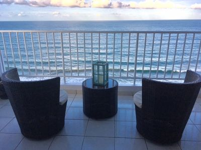 Photo for Beachfront Apartment ~ Spectacular View!