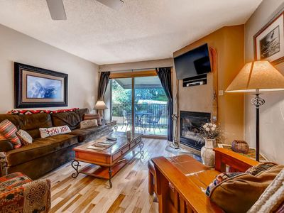 Photo for Charming Mountain Lodging Bordering the Ski Area/Easy Access to Mountain Trails