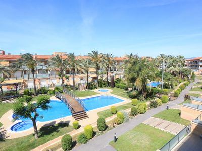 Photo for 105- PORT MARINO XXI. Spectacular apartment in Cambrils with pool and terrace
