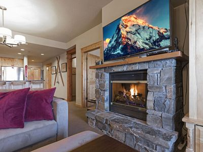 Photo for Direct Ski in and Ski out!!   2 bedroom/1 bath Morning Eagle ski in/out!!
