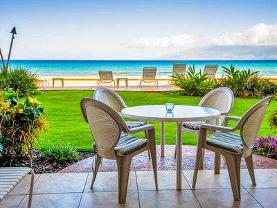 Private ground floor lani only steps away from water! #103