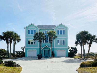 NEW Look-Luxury Oceanfront Home in Dolphin Ridge W/ Pool & Hot Tub🐬Epic Views
