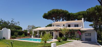 Photo for Beautiful detached 4 bedroomVilla with private heated pool. Completely secluded.