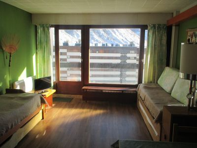 Photo for PLEASANT STUDIO FOR 3 PERSONS IN TIGNES LE LAC SOUTH-EAST FACING - BEC ROUGE 822