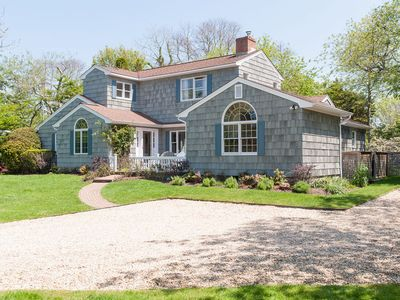 Photo for Beautiful 4 BR Amagansett Home, Easy 10 Minute Walk To Beach And Town