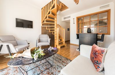 Photo for Amazing 4pax- 2 Bedrooms City Center Madrid Penthouse
