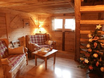 Photo for Detached chalet resort Arèches Beaufort. charm and warm