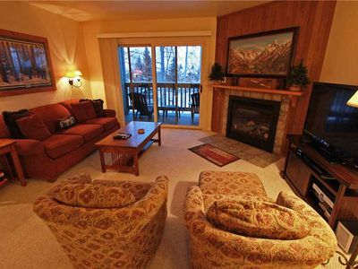 Photo for Snow Flower Condo #115, 2 bedroom 2 bath, sleeps 6, SKI-IN/SKI-OUT to Park City Mountain Resort