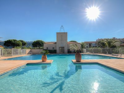 Photo for 2 bedroom Villa, sleeps 6 with Pool, WiFi and Walk to Beach & Shops