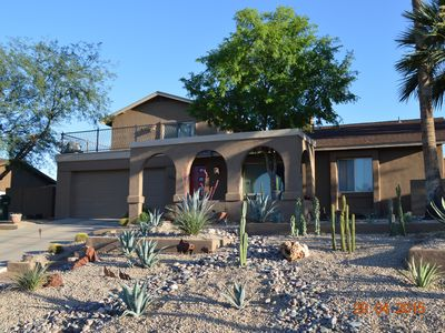 Photo for Luxury Home backing to Phoenix Mountain Preserve- Special Summer Rates!