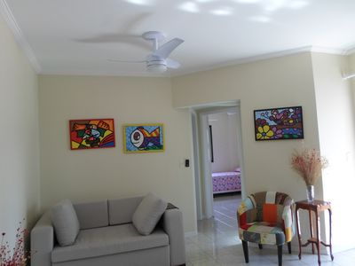Photo for 2BR Apartment Vacation Rental in Santos, SP