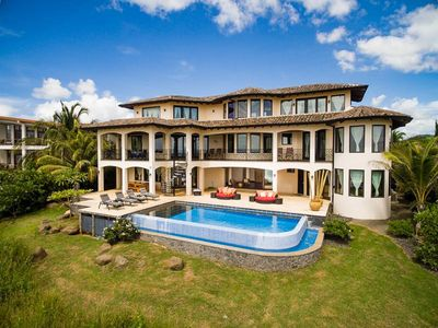 Photo for Villa Esperanza  - Luxury Beachfront Villa In Tropical Paradise