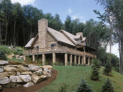 Photo for Luxe 3BR Cabin w/ Private Hot Tub, Sauna, Resort Pool Access, Golf & Resort Spa