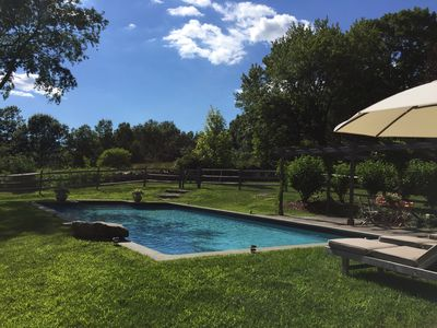 Photo for Tranquil New England Retreat with Pool.