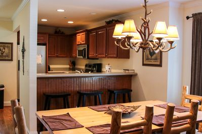 Dining room & Kitchen located on the 2nd floor
