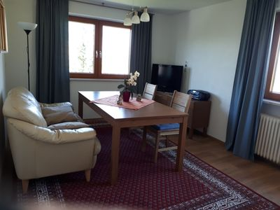 Photo for Bright and spacious apartment with 3 bedrooms on 2 floors near the ski area