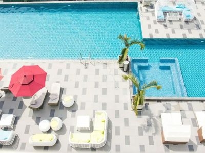 Photo for 5★Epic Pool Resort 32sqm Free Wifi+Cooking tools