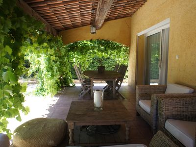 Photo for House with private pool and garden in Cogolin, Saint Tropez region