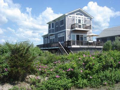 Photo for Oceanfront Beachhouse--Private Beach, Stunning Views, WiFi, A/C