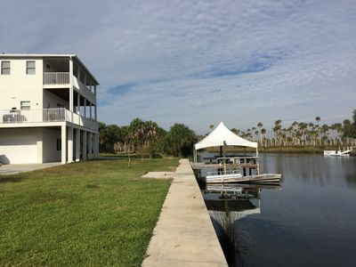 Last House before the Gulf direct at the Weeki Wachee River, - great location.