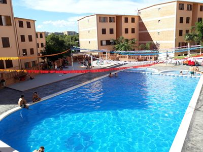 Photo for Salou with pool and beach.